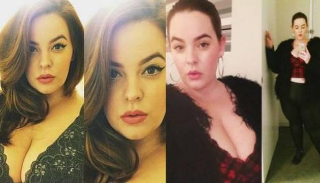 Modelo de 'talla grande' publicó fotos de su embarazo y esto sucedió