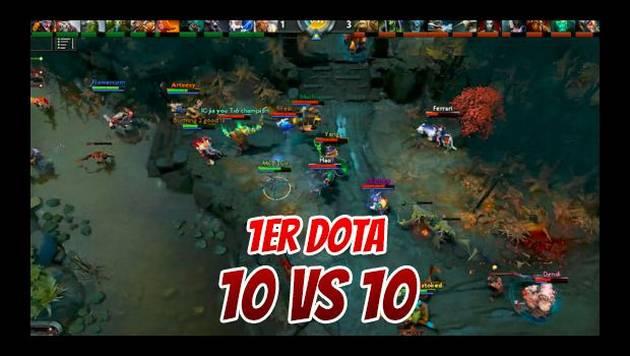 Dota 2: Revive el primer juego de 10 contra 10