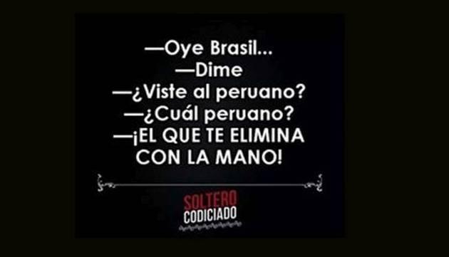 ¡Vacílate con los memes de la victoria de Perú sobre Brasil!