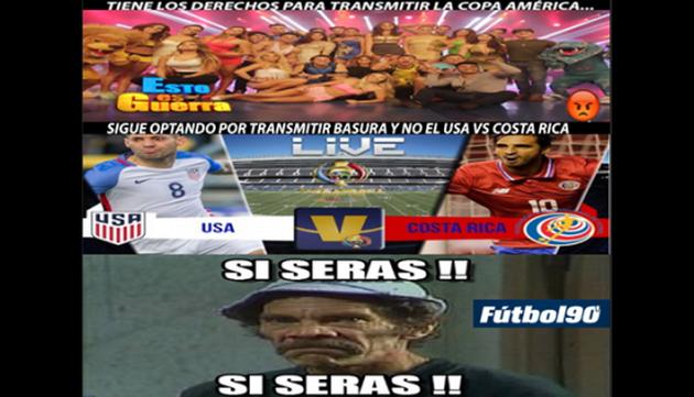 ¡Televidentes molestos con canal que transmite la 'Copa América'!