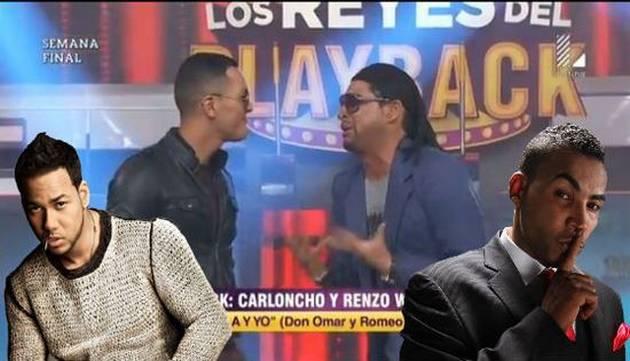 ¡Qué buena dupla! 'Carloncho' y Renzo Winder la hicieron con 'Ella y yo' en 'LRP'