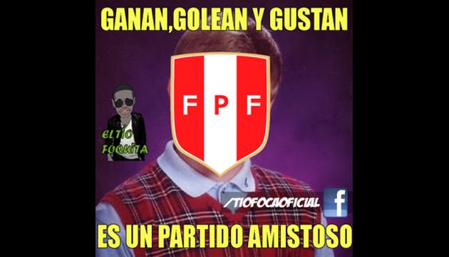¡Gánate con los mejores memes de la goleada de Perú!
