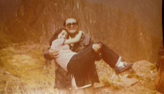 Esta foto de la 'Chilindrina' y el 'Señor Barriga' te hará llorar