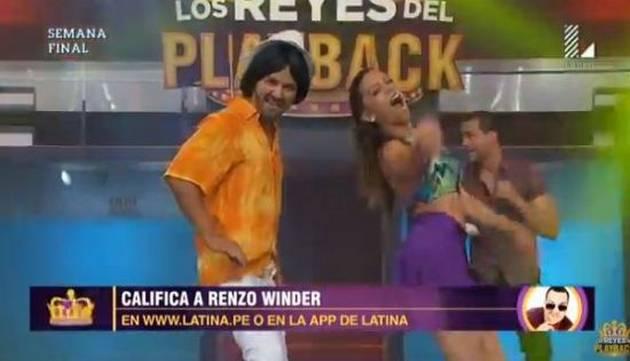 ¡Renzo Winder volvió a 'Los Reyes del Playback y así le fue!