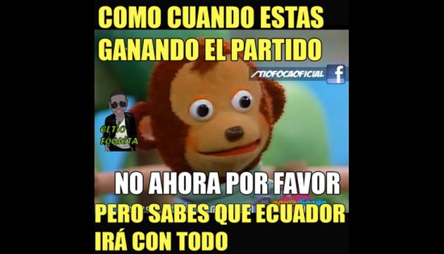 ¡Los memes del empate de Perú ante Ecuador salen como pan caliente!