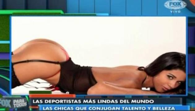 ¡Buena! Rocío Miranda entre las 5 deportistas más lindas del mundo, según Fox Sports
