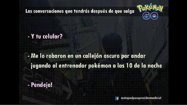 ¡Pokémon GO dejó de funcionar en Perú y toda Latinoamérica, pero los memes no paran de salir!