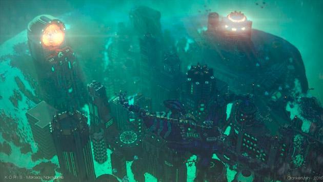 8 escenarios que fueron construidos en 'Minecraft' y lucen increíbles [FOTOS]