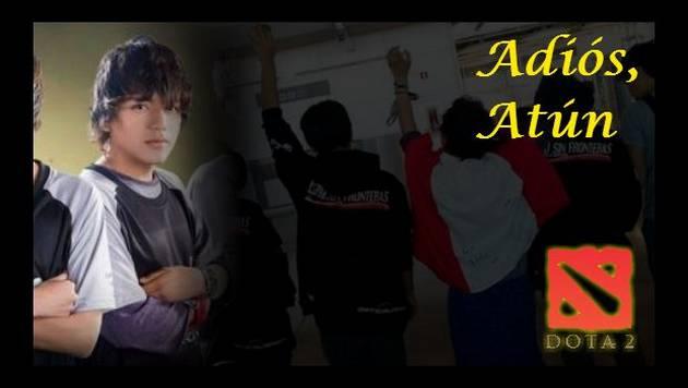 'Dota 2' le dice a 'Atún' adiós y gracias. Jugador peruano anunció su retiro