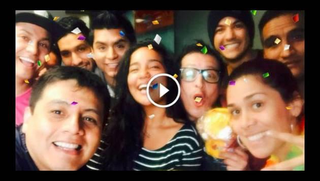 Así celebró Marianita su cumpleaños con la gente de Radio Moda