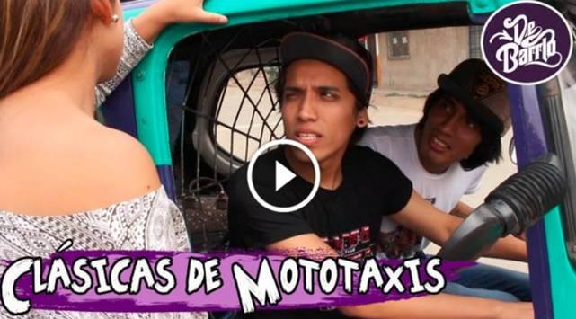 De Barrio y las clásicas de mototaxi