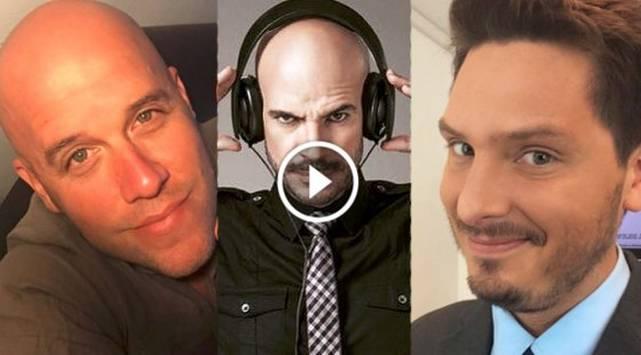 Cristian Rivero, Ricardo Morán y Gianmarco tuvieron divertida discusión detrás de cámaras