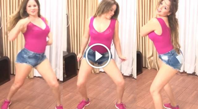 Cindy Marino te enseña a bailar 'Mueve el totó' y 'Ginza'