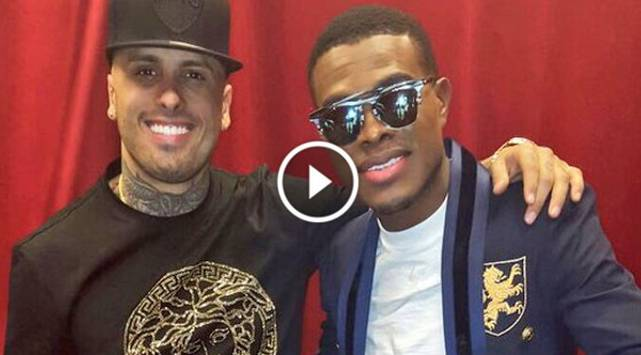 Nicky Jam y OMI interpretan 'Cheerleader' en los Latin Grammys 2015