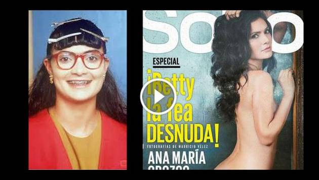 'Betty, la fea' se desnudó para la revista Soho