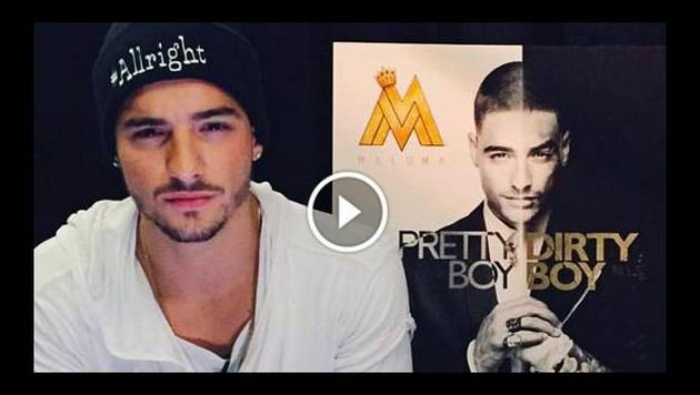 Maluma lanzará 'Pretty boy, dirty boy', su segundo disco