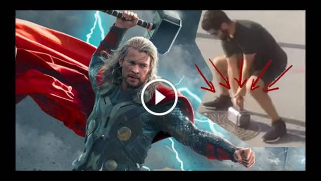 ¡El martillo de Thor existe! Solo una persona lo puede levantar