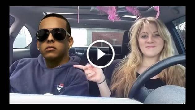 Gringa no puede cantar 'Gasolina' de Daddy Yankee en español