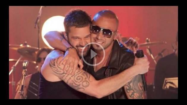 Wisin y Ricky Martin presentan el videoclip 'Que se sienta el deseo'
