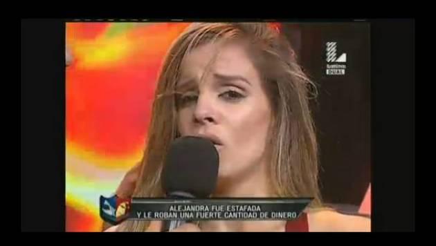 Alejandra Baigorria volvió a llorar en un reality, esta vez porque unos choros le hicieron esto