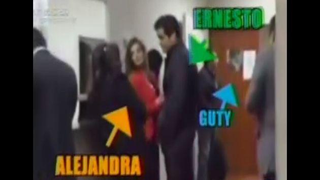 ¡Graban encuentro entre Alejandra Baigorria y Guty Carrera dentro de juzgado!