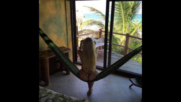 ¿Lo notaste? Esta es la sensual pose que más repite en sus fotos la hija de Laura Bozzo