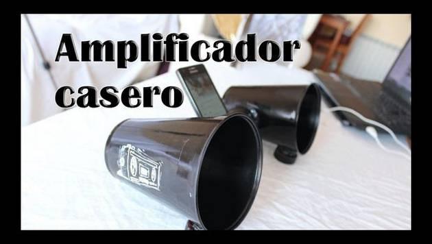 YouTube: Construye un amplificador casero para tu smartphone