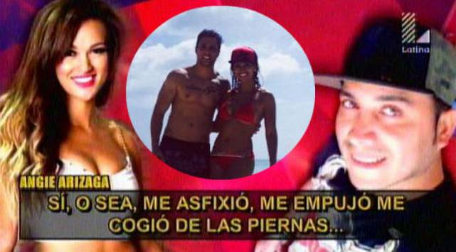 ¡Angie Arizaga y Nicola Porcella otra vez juntos! Mira estas fotos