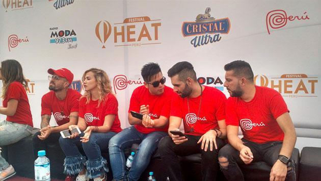 Artistas del Festival Heat Perú y Moda se unieron a la campaña #UnaSolaFuerza [FOTOS Y VIDEOS]