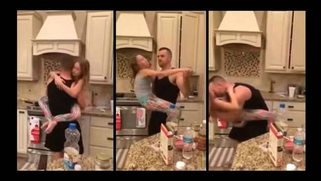 Baile entre padre e hija genera polémica