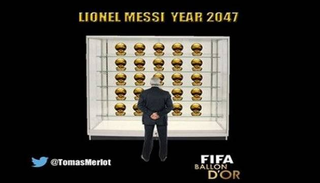 Vacílate con los mejores memes de la premiación del Balón de Oro 2015