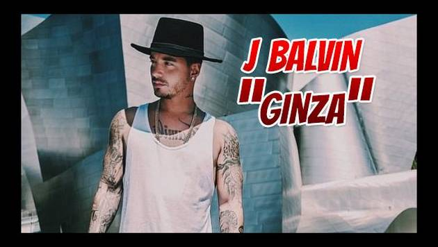 J Balvin estrenó Ginza en los Premios Juventud