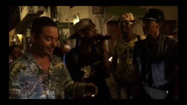 J Balvin demuestra que la calle nunca se olvida [VIDEO]