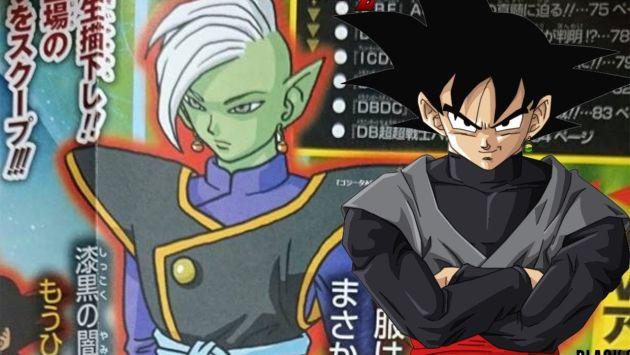 ¡Se revela que Black Gokú, villano de 'Dragon Ball Super', es producto de una fusión!