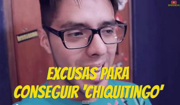 Bruno Acme nos trae las excusas para conseguir 'chiquitingo'