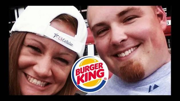 """Conoce a los """"Burger King"""", los esposos con apellido de comida rápida"""