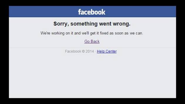 Facebook se volvió a caer