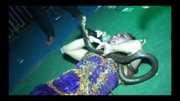 Dio concierto con una cobra en el escenario y esto pasó [VIDEO]
