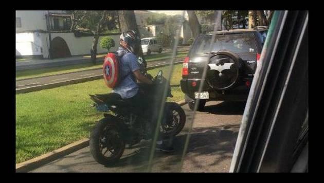 ¿El Capitán América y Batman coincidieron en Lima?