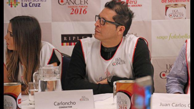 ¡Carloncho te invita al festival de la Liga Contra el Cáncer!