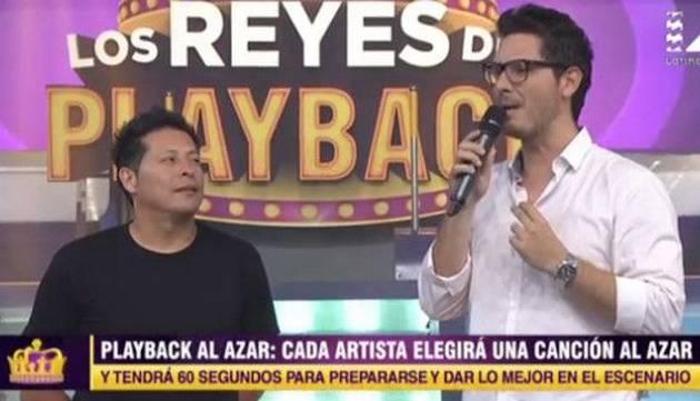Carloncho es el nuevo rey de Los Reyes del Playback ¡Mira cómo imitó a Luis Miguel!