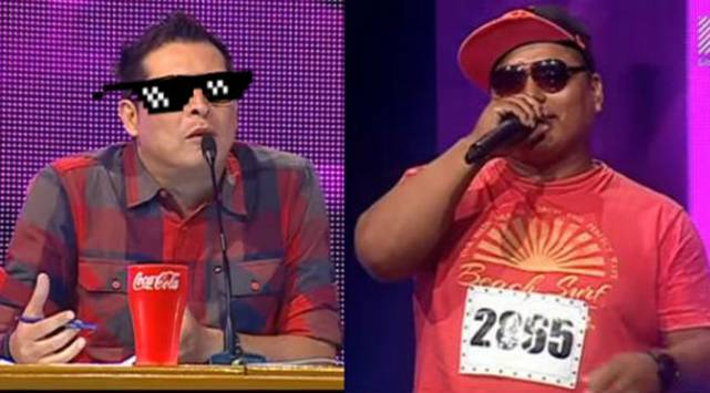 ¡Carloncho troleó a un confundido imitador de Nicky Jam!