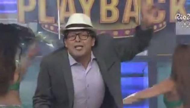 Carloncho se transformó en un abuelo y esta fue su presentación en ' Los Reyes del Playback'
