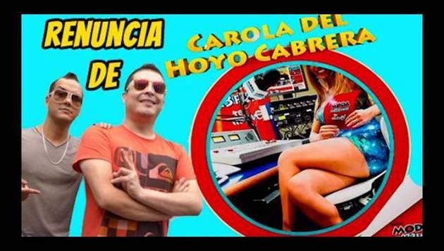 ¡Queeeeeeé! ¡Carola renunció a Moda por estar embarazada de Renzo!