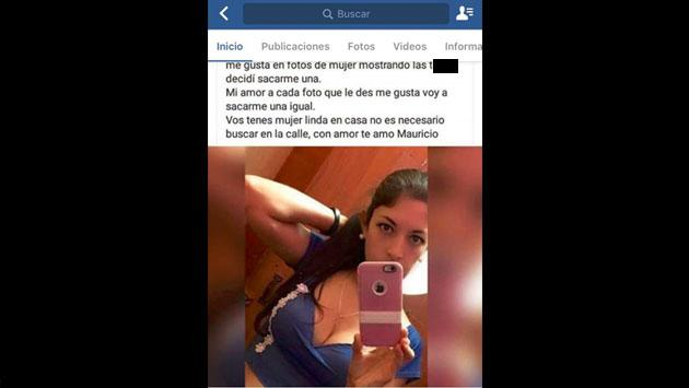 Él daba 'like' en Facebook a fotos de chicas sexys y su esposa lo castigó así