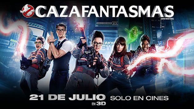 ¡Salieron los ganadores de las entradas y productos de la película 'Cazafantasmas'!