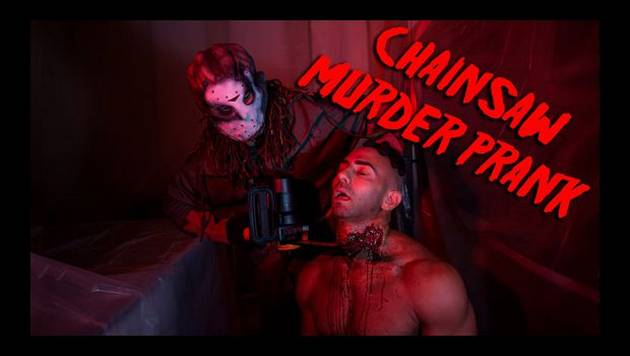 YouTube: broma de matanza con motosierra es viral