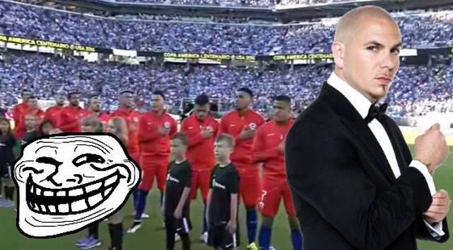 ¡Chile fue troleado mientras cantaba su himno!