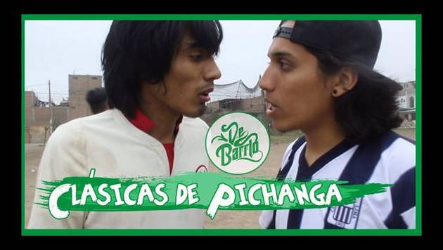 YouTube: De Barrio y las Clásicas de pichanga