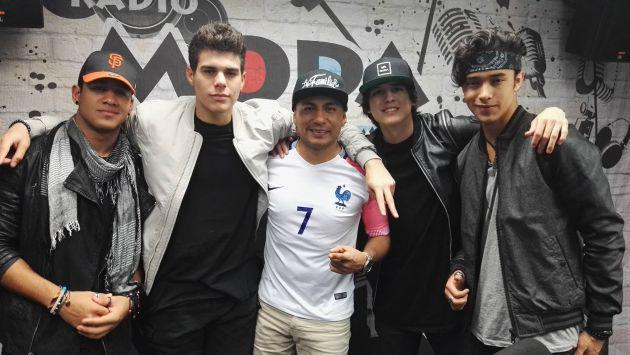 ¡Los chicos de CNCO visitaron MODA! [FOTOS Y VIDEO]